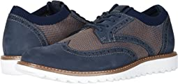 Navy/Tan Knit/Nubuck