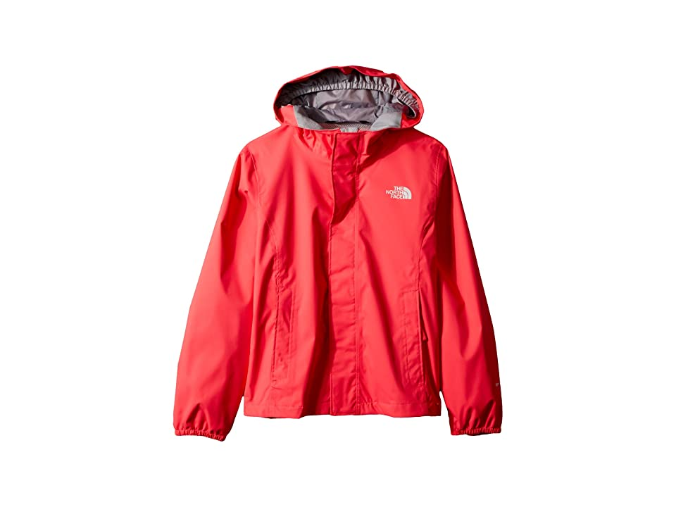 The North Face Kids Resolve Reflective Jacket (Little Kids/Big Kids) (Atomic Pink) Girl