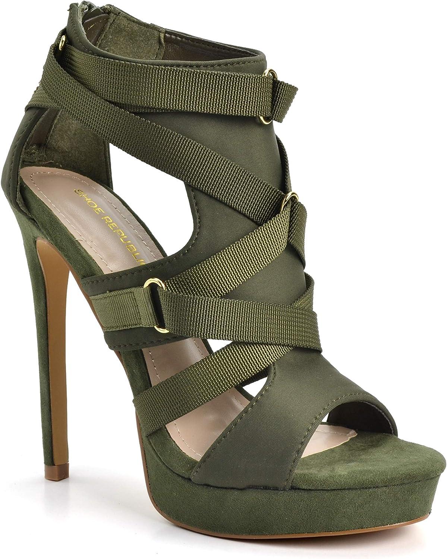 Shoe Republic LA 5☆好評 Women's Fashion Stilettos Platform Sa Heel High セール開催中最短即日発送
