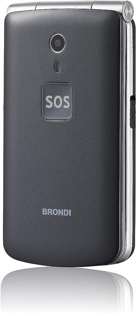 Brondi amico n°uno, telefono cellulare gsm per anziani con tasti grandi, tasto sos dual sim 10274070