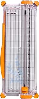 Fiskars SureCut Portable Paper Trimmer, 12 Inch Cut