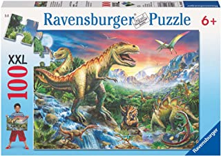 Ravensburger Time of The Dinosaurs Puzzle 100pc,Children's Puzzles