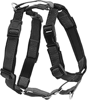 PetSafe 3 in 1 Harness and Car Restraint, Large, Black, No Pull, Adjustable, Training for Small/Medium/Large Dogs