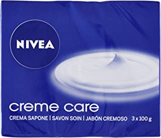 NIVEA Creme Care Jabón en Pastilla - 3 x 100 gr