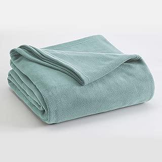 Vellux Microfleece Blanket, Twin, Light Blue