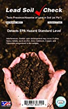 Industrial Test Systems SenSafe 480311 Lead Soil Test Strip, 0-400ppm Range, Five Tests