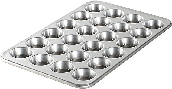Nordic Ware Natural Aluminum Commercial Petite Muffin Pan