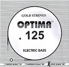 Optima/Maxima Bass Gold .125