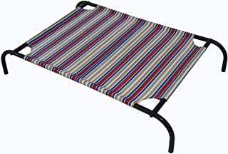 Homecute Elevated Cooling Mesh Dog or Cat or Pet Bed Cot (Large)