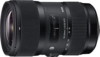 Sigma 18-35mm F/1.8 DC HSM ART Lens for Canon DSLR Cameras