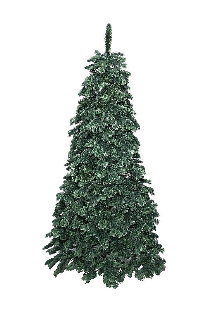 控えめな埋める満足クリスマスツリー 150cm ヨーロピアンブルースプルースツリースリム