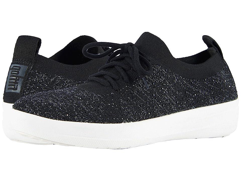 FitFlop F-Sporty Uberknit Sneakers (Black 1) Women
