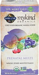 Garden Of Life Organic Mykind Prenatal Multivitamin, 216 CT