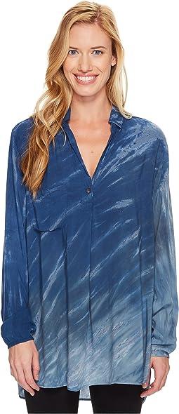 Hard Tail - Long Sleeve Maxi Shirt