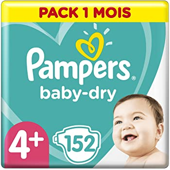 Pampers Baby Dry taille 4/  Maxi Plus 9 20/ kg Giga Lot de 112/ couches