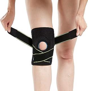 پای زانو با تثبیت کننده های جانبی و پدال های ژل پاتلا برای پشتیبانی زانو
