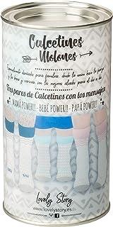 LOVELY STORY, Familia Power Calcetines, Azul, T.U. Unisex Adulto