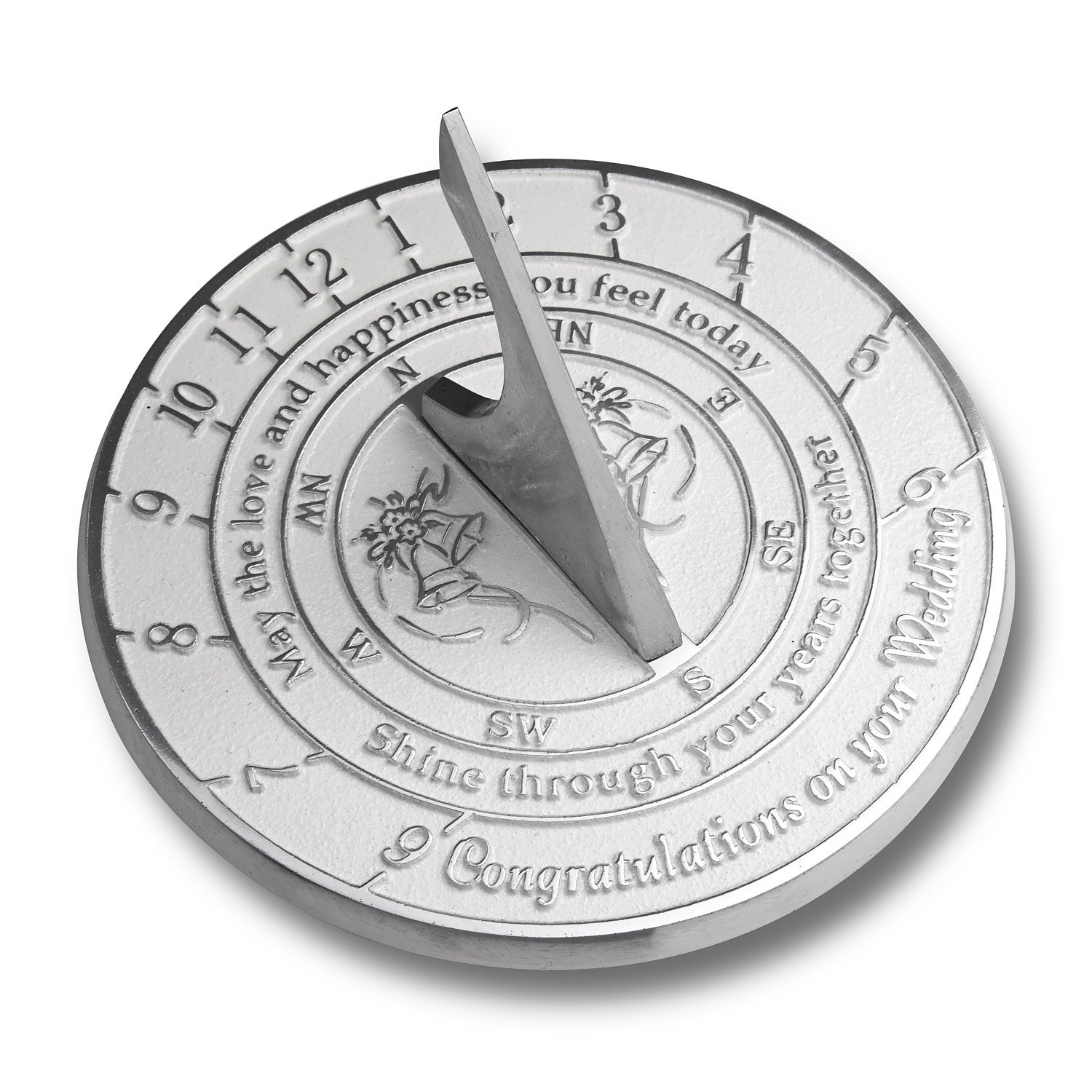 The Metal Foundry Unique Wedding Gift Idea For A Special Couple. A Years Together Sundial  sc 1 st  Amazon UK & Wedding Gifts Ideas for Friends: Amazon.co.uk