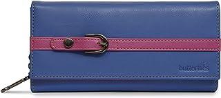 Butterflies Women Wallet (Blue,Pink) (BNS 2421BL)