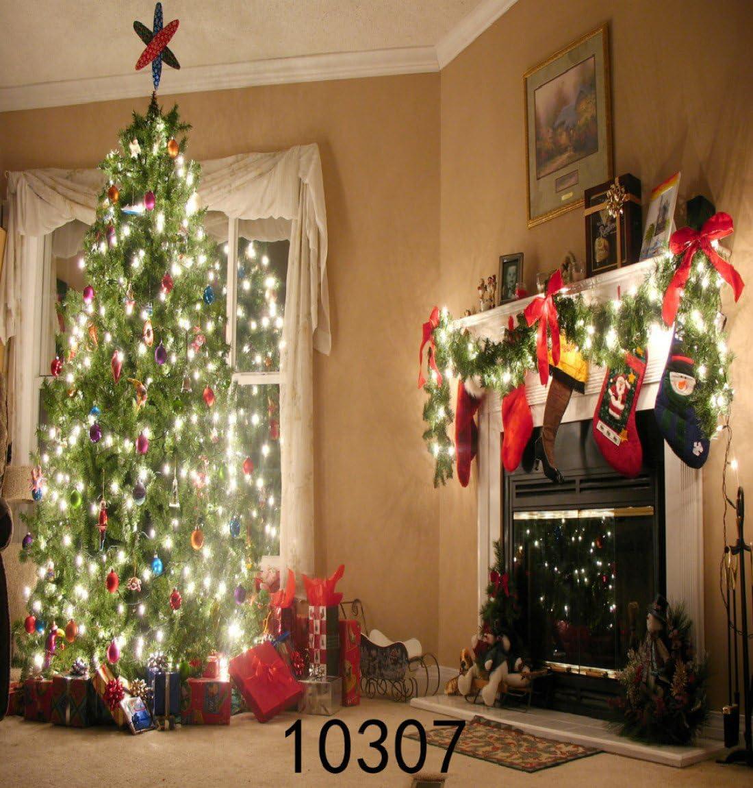 6X10FT-Christmas Tree Photography Backdrops Festival Decoration Photo Studio Background