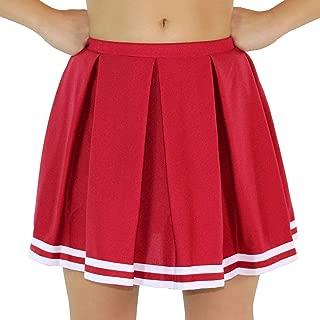 Womens Knit Pleat Cheerlearding Uniform Skirt