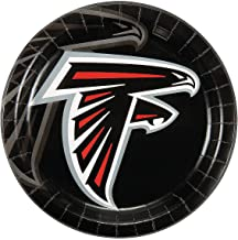 Fun Express - Nfl Atlanta Falcons Dinner Plates for Party - Party Supplies - Licensed Tableware - Licensed Plates & Bowls - Party - 8 Pieces