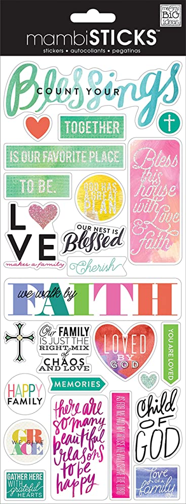 me & my BIG ideas Count Your Blessings Sticker