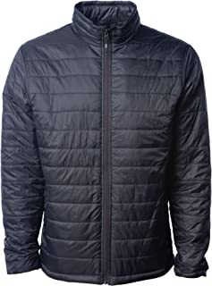b3ba1a51b02bc Global Blank Mens Alternative Down Puffer Jacket Water-Resistant Packable  Shell