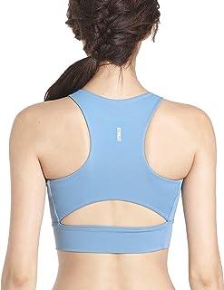 GYMCAT Sports Bras for Women Yoga Workout Bra- Running Gym Activewear Tank Vest Type