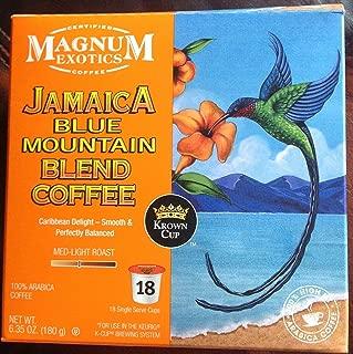 Magnum Coffee K-Cups, Jamacian Blue Mountain, 18 Count