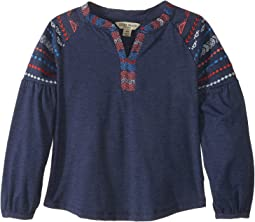 Lucky Brand Kids - Tessa Embroidered Top (Little Kids)