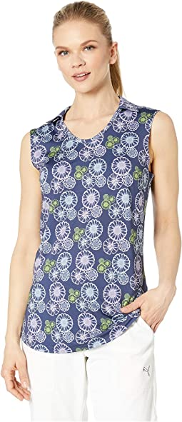 Blossom Sleeveless Polo