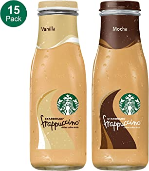 15 Count Starbucks Frappuccino 2 Flavor Variety Pack 9.5 Fl. Oz