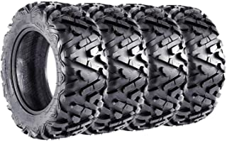 VANACC ATV Tires 26x8x14 Front & 26x10x14 Rear 6PR 26x8-14 26x10-14 UTV Tire Complete Set of 4