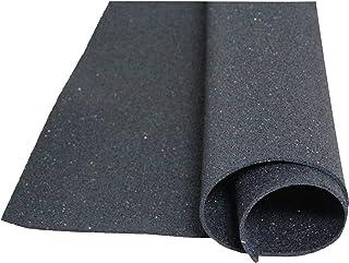 acerto 30152 Estera de protección de Edificios Hecha de gránulos de Goma - 4.00m x 1.00m x 5mm * para Todos los Pisos * Ca...