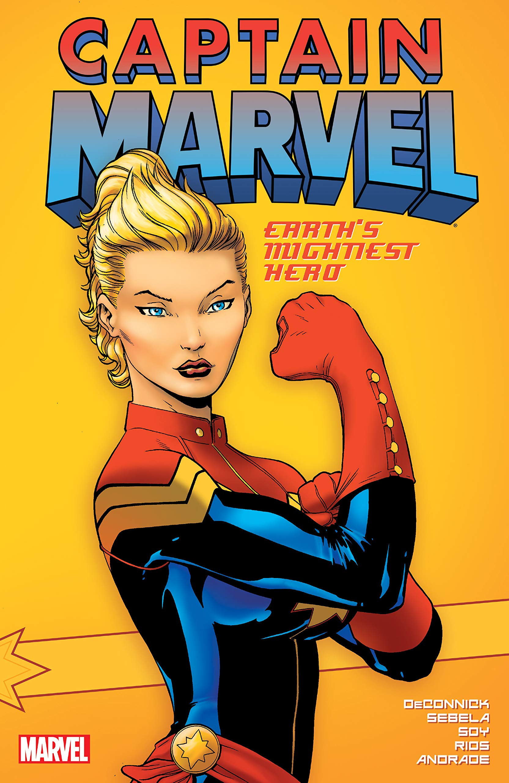 Captain Marvel Earths Mightiest