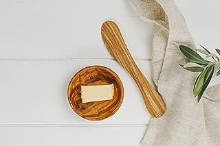Naturally Med Olive Wood Butter Knife/Spreader