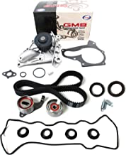 NEW TCK199WPVC-1 (163 TEETH) Timing Belt Kit (w/ Tensiner Springs & Oil Seals), Water Pump Set, & Valve Cover Gasket with Spark Plug Tube Seals for 87-01 Toyota 2.0L & 2.2L DOHC