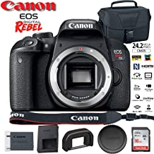 Canon EOS Rebel T7i DSLR Camera (1894C001) USA Model with Canon EOS Bag and 16GB Memory Card - Starter Set