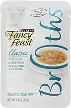 Purina Fancy Feast Broths With Tuna & Vegetables Decadent Creamy Broth, 40 gm