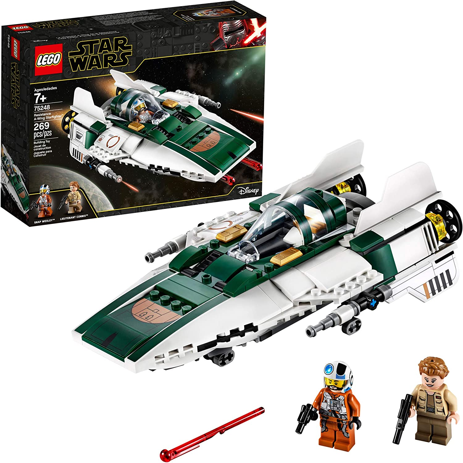 15. LEGO Star Wars: The Rise of Skywalker Resistance A-Wing Starfighter