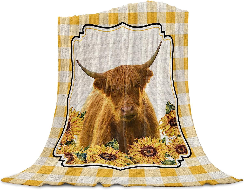 IDOWMAT Lightweight Flannel Fleece Bed New product!! Warm Kansas City Mall Soft Throw Blankets