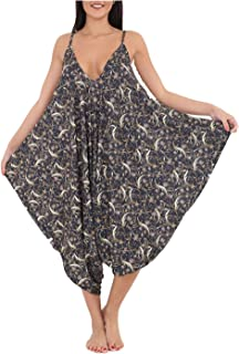 7d263fd7c77 H.A.A.S® Womens Floral & Printed Legenlook Romper Jumpsuit Ladies Fancy  Party Top Dress