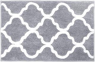 "Pauwer Bathroom Rugs Non Slip Bath Mat for Bathroom 24""x36"" Water Absorbent Soft Microfiber Shag Bathroom Mat Machine Wash..."
