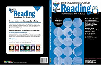 Newmark Common Core Reading Warm-Ups and Test Practice Book, Grade 5 (CC Warm-Ups)