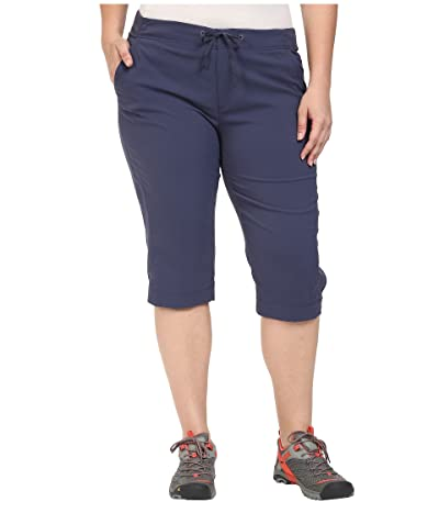 Columbia Plus Size Anytime Outdoortm Capri (Nocturnal) Women