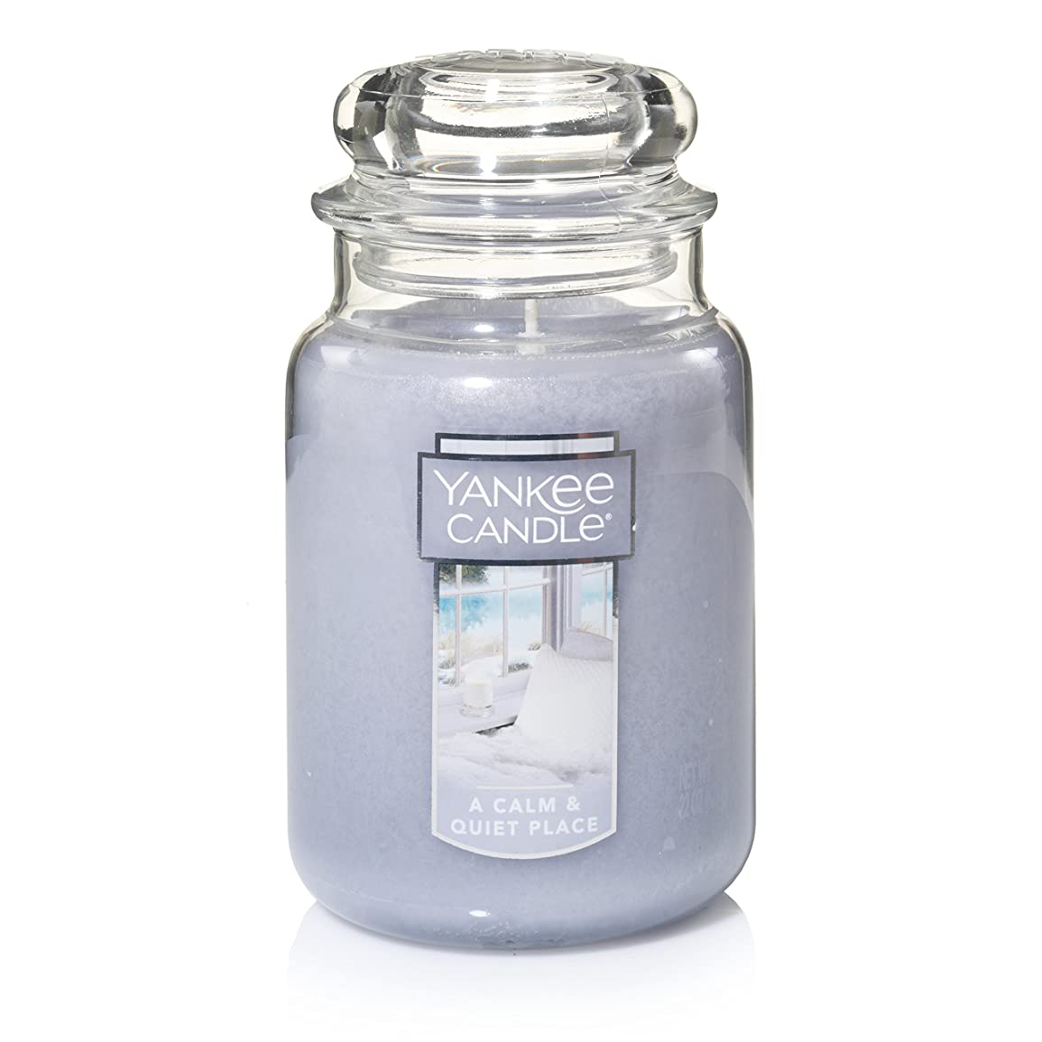 液化するクレデンシャル殺すYankee Candle A Calm & Quiet Place Jar Candle , Large