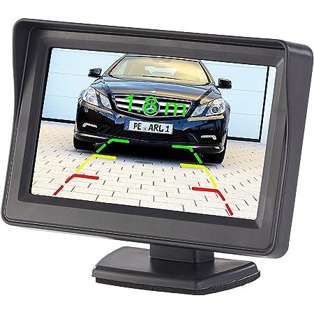 Lescars Rückfahrmonitor Kfz Monitor Für Rückfahr Elektronik