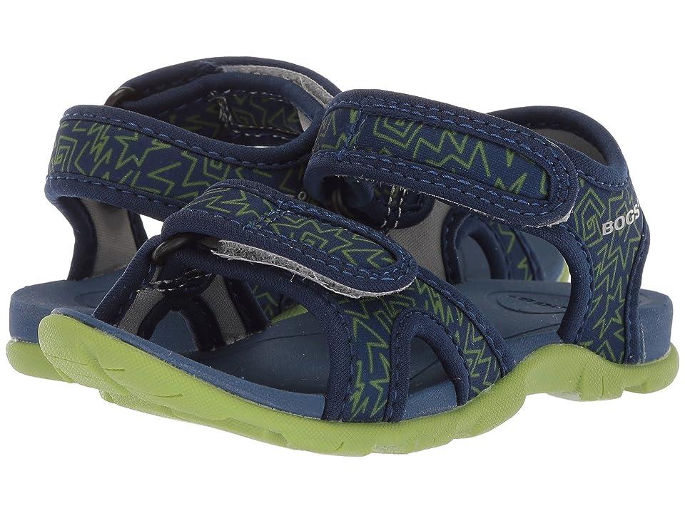 Bogs Kids Whitefish 80s (Toddler/Little Kid) (Dark Blue Multi) Boys Shoes