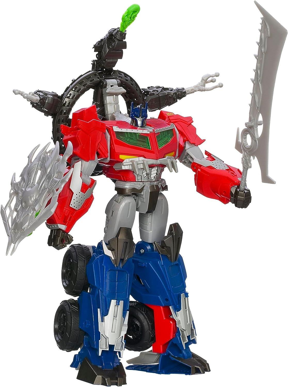 Transformers Tran Prime Dragon Hunter Optimus Prime